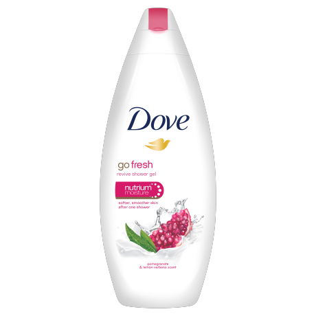 Dove Go Fresh Revive gel krema za prhanje 250ml