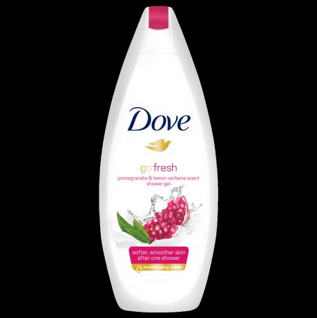Sprchový gél Dove Go Fresh Granátové jablko averbena 250ml