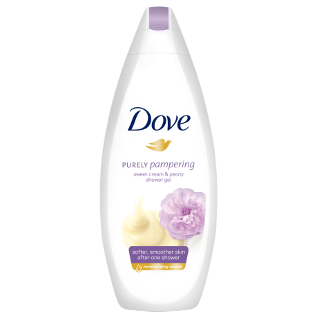 Sprchový gél Dove Purely Pampering Smotana a pivonka 250ml