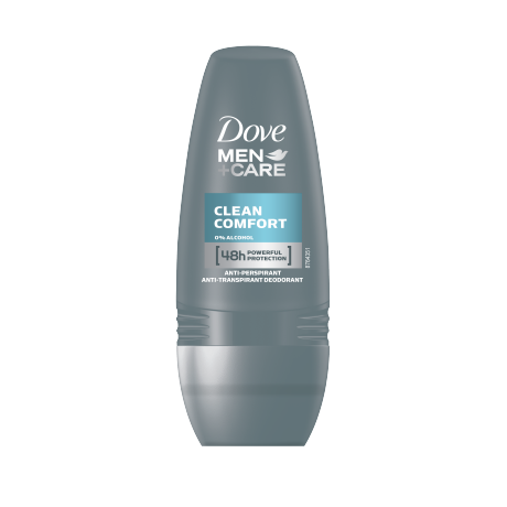 Dove Men+Care Clean Comfort Anti-perspirant Roll-on 50 ml