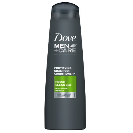 Dove Men+Care Fresh Clean Fortifying 2 in 1 shampoo 250ml