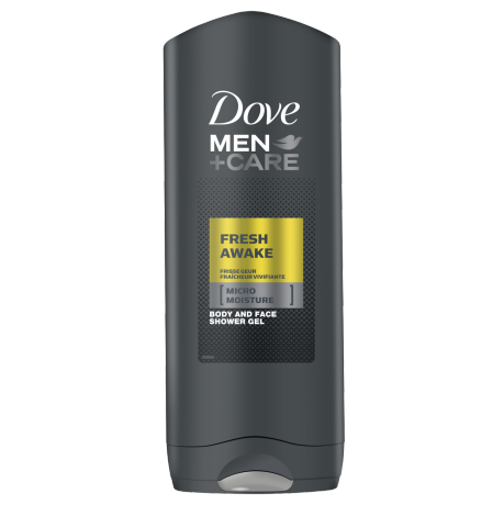 Dove Men+Care Fresh Awake Body and Face Wash 250ml