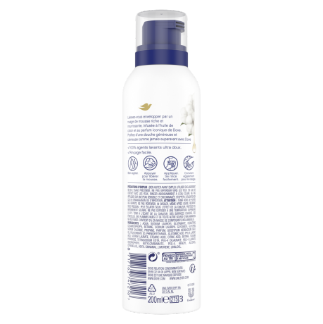 PNG - Dove SHOWER FOAM Deeply Nourishing 200 ML