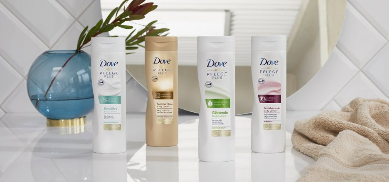 Dove PFLEGE PLUS Body Lotions