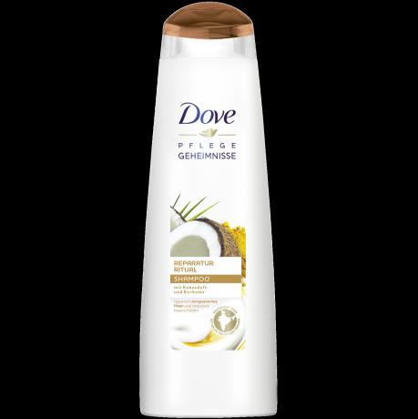 Dove Reparatur Ritual Shampoo mit Kokosduft & Kurkuma 250 ml