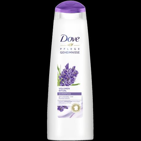 Volumen Ritual Shampoo mit Lavendel- und Rosmarinduft