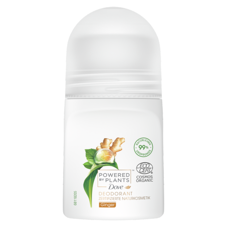 Powered by Plants Ginger Deo Roll-On