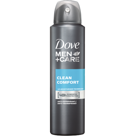Dove MEN+CARE Clean Comfort Anti-Transpirant-Spray 150 ml