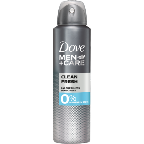 Dove MEN+CARE Clean Fresh 0% Aluminiumsalze Deodorant-Spray 150 ml