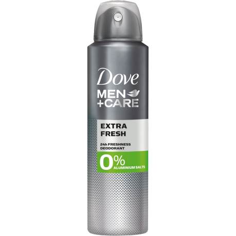 Dove MEN+CARE Extra Fresh 0% Aluminiumsalze Deodorant-Spray 150 ml