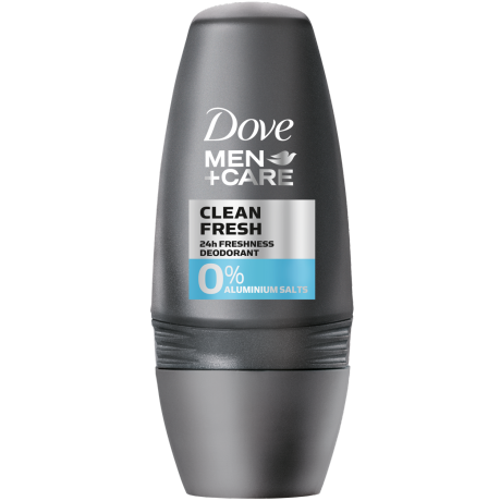 Dove MEN+CARE Clean Fresh 0% Aluminiumsalze Deodorant-Roll-On 50 ml