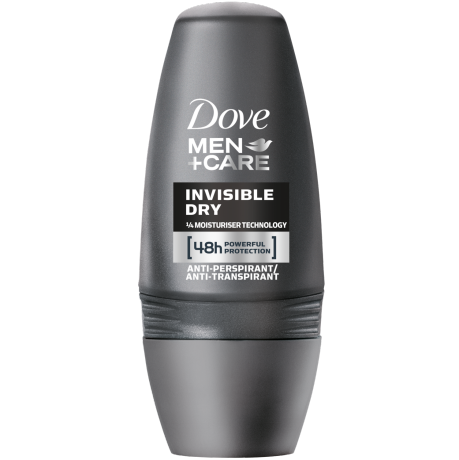 Dove MEN+CARE Invisible Dry Anti-Transpirant-Roll-On 50 ml