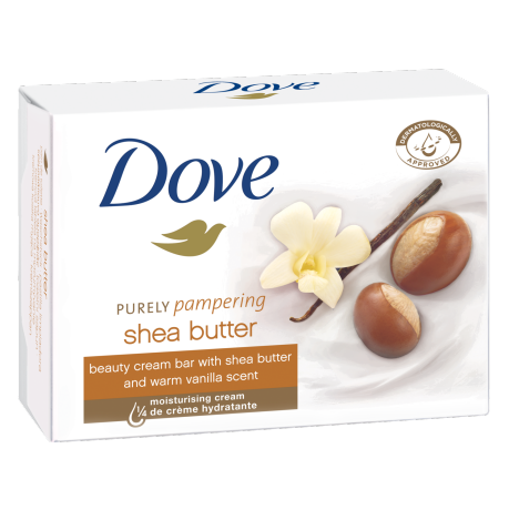 Dove Beauty Cream Bar Purely Pampering Shea Butter 100 g