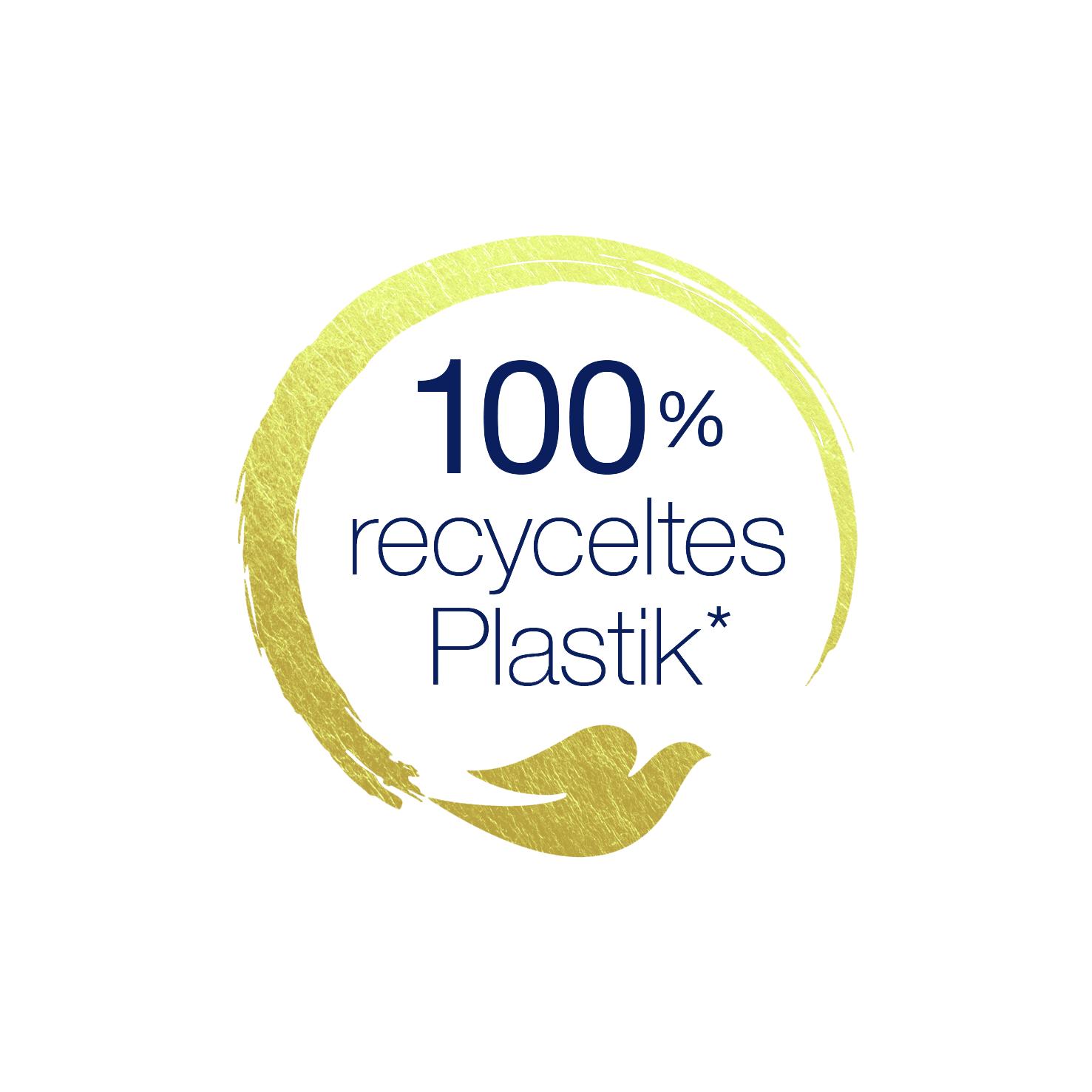 Dove 100% recyceltes Plastik*