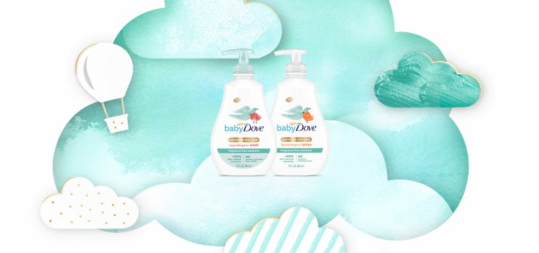Baby Dove Fragrance-Free Moisture