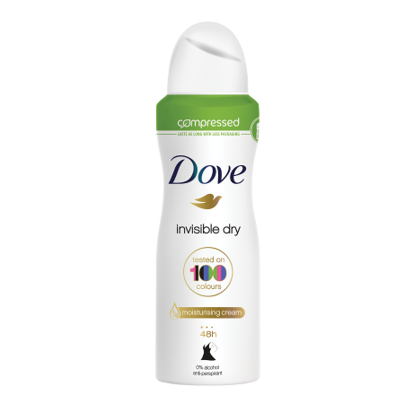 Dove Invisible Dry compressed spray deodorant 75ml
