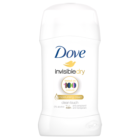 Dove Invisible Dry Deodorantstick