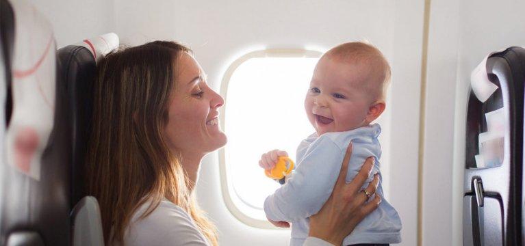 Viajar con tu bebé: tips para que nada falle en estas vacaciones