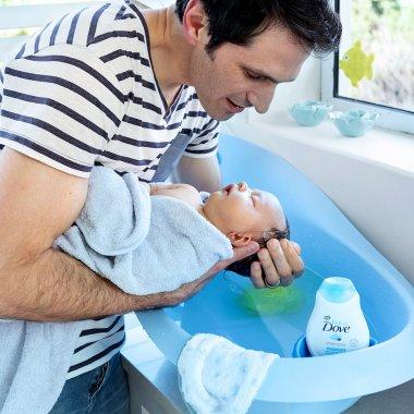 La rutina de baño para tu bebé