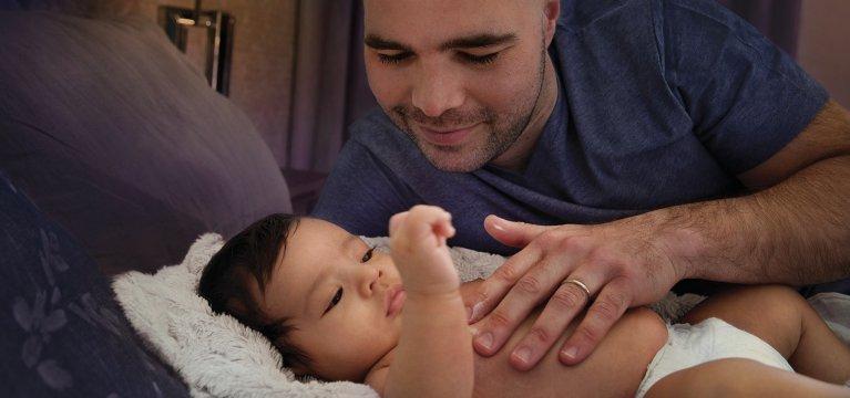 Baby overnight skin care