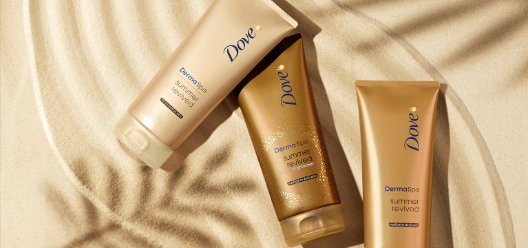 Dove Products for glowing skin