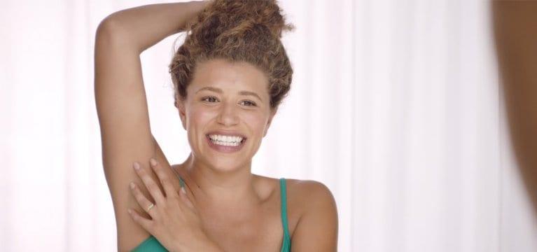 How to prevent underarm odour – Dove