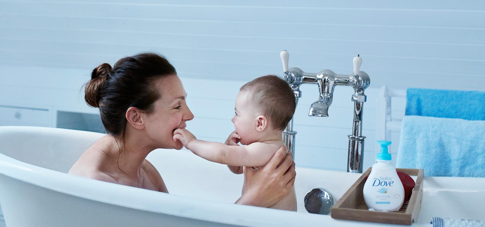 Baby Bathing – Baby Dove