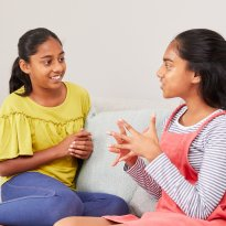 Friends chatting – resources for youth leaders