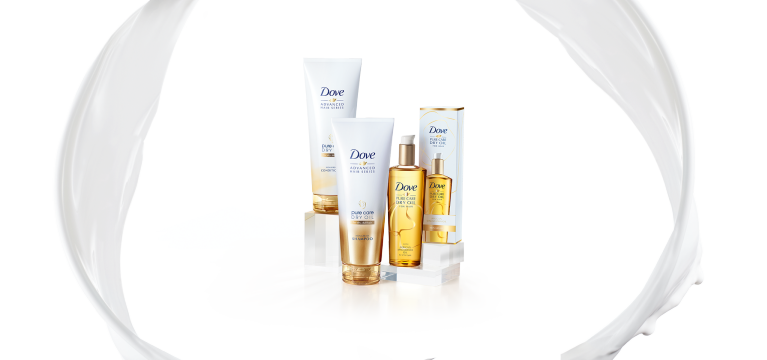 Dove Advanced Hair Series Pure Care Dry Oil Range