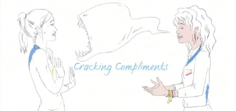 Dove Cracking Compliments