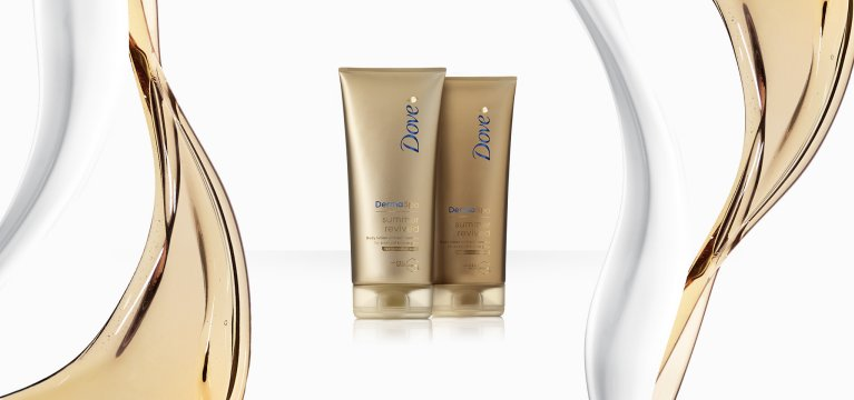 Descubra a nova gama Summer Revived de Dove DermaSpa