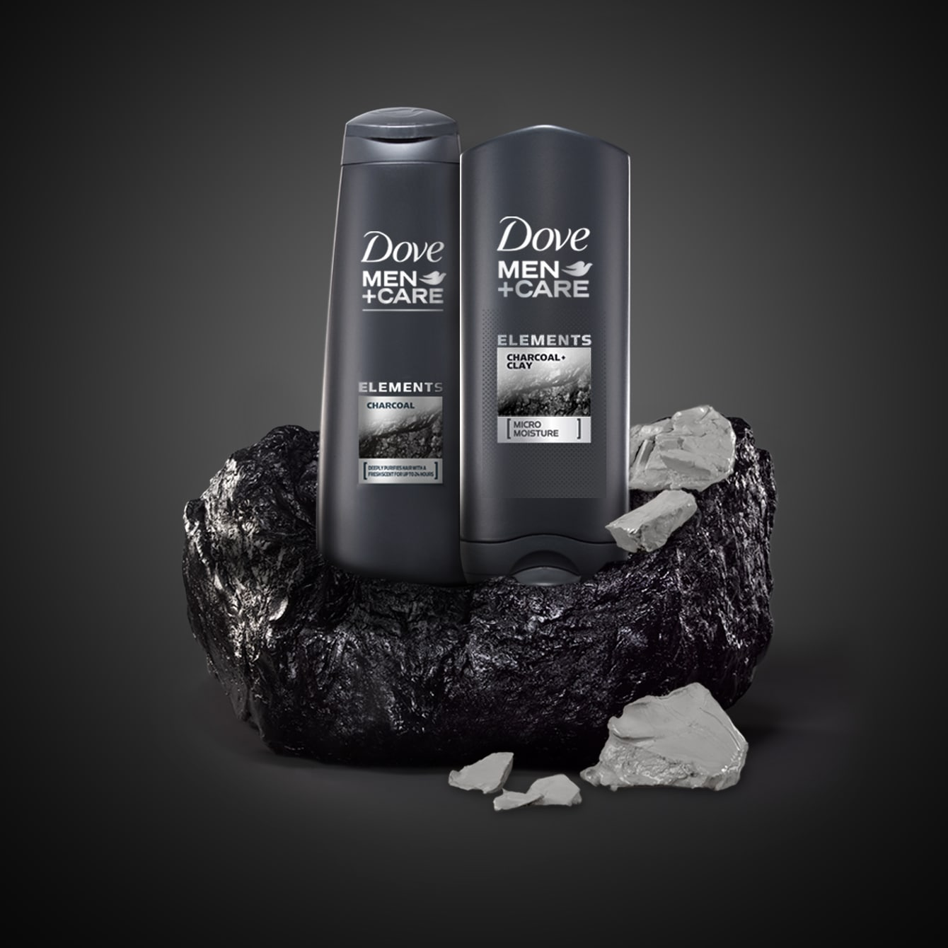 Charcoal Clay Dove Men Care