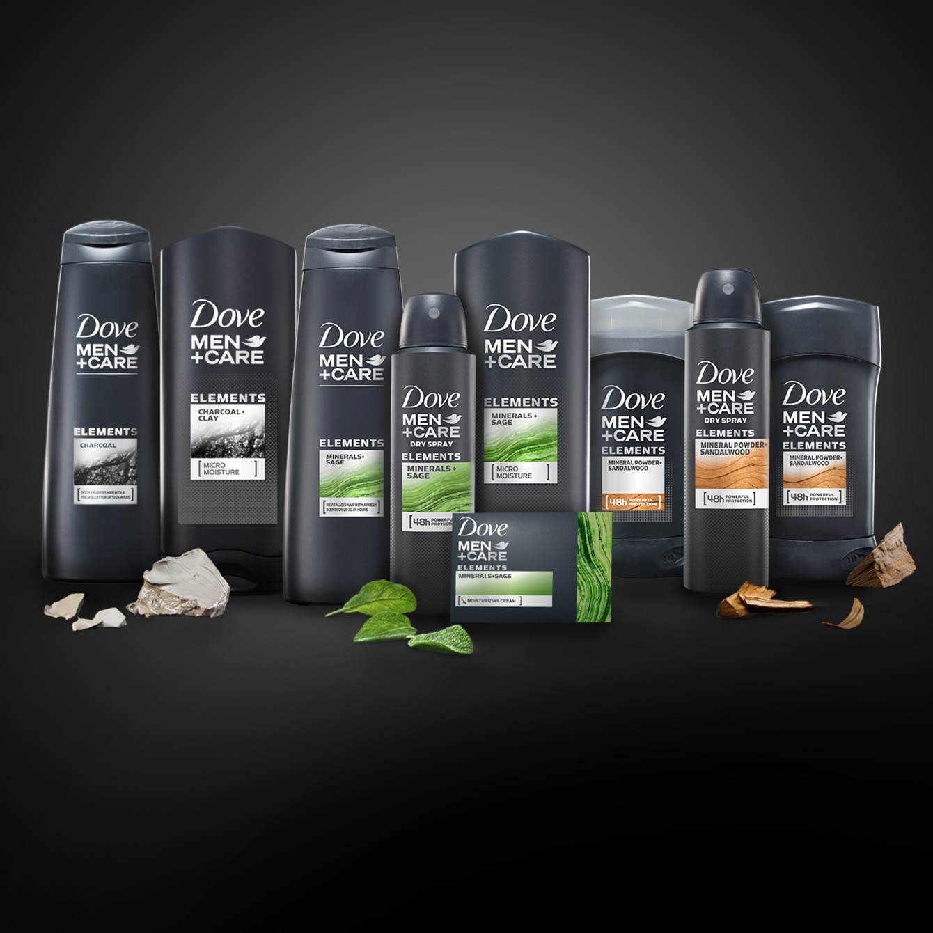 Elements Dove Men Care