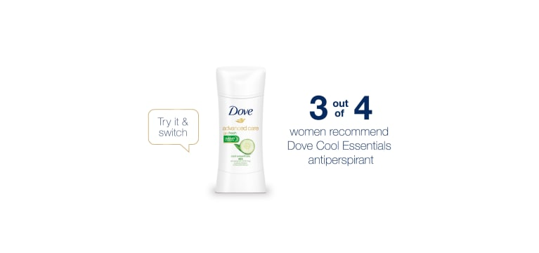 Why do more women #SwitchToDove?