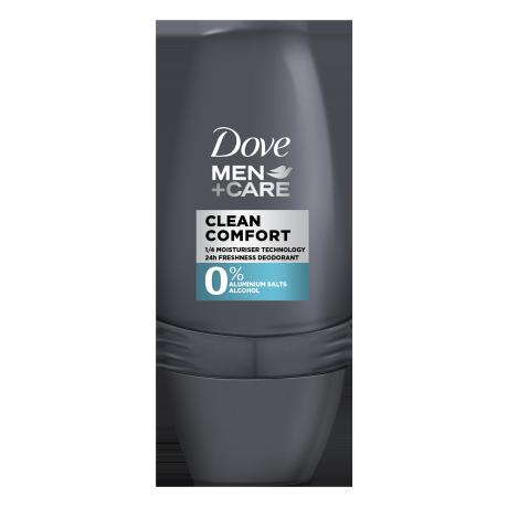 Dove Clean Comfort 0% Deodorant Roll-on