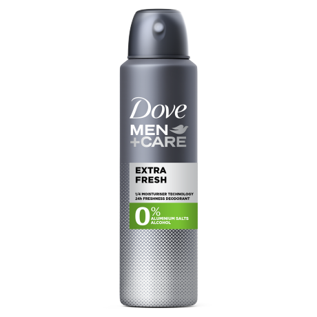 Dove Extra Fresh 0% Deodorant Spray