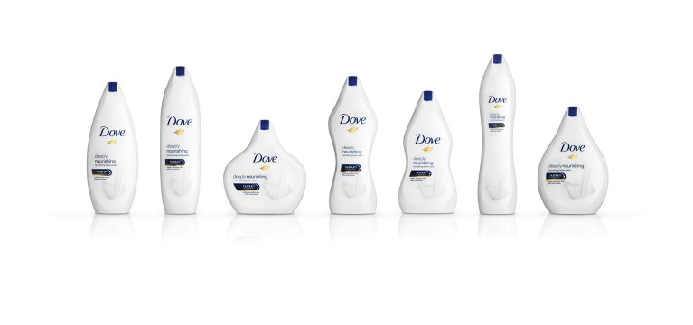 Limited Edition Dove Body Wash