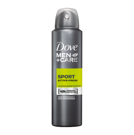 Dove Men+Care Sport Active+Fresh Antiperspirant Deodorant 250ml