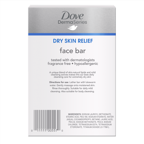 PNG - Dove DermaSeries face bar