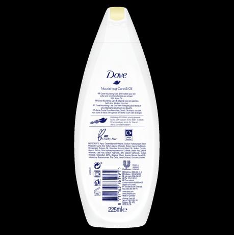 PNG - Dove BW 225ml Nourishing OilandCare