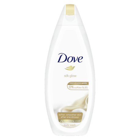 Dove Silk Glow Body Wash