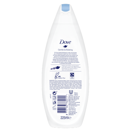 PNG - Dove BW 225ml Gentle Exfoliate