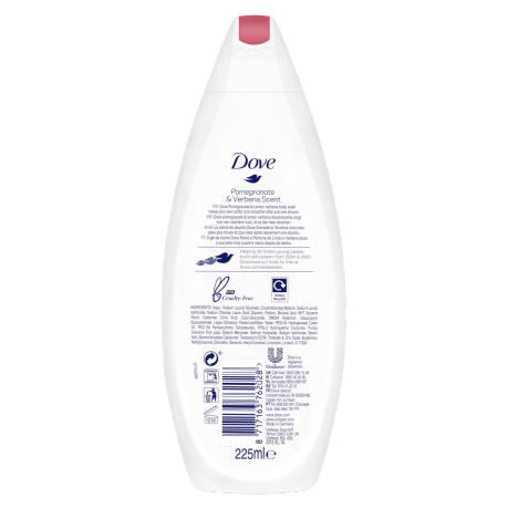 PNG - Dove BW 225ml Revive