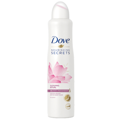 Nourishing Secrets Glowing Ritual Antiperspirant Deodorant Spray – Dove