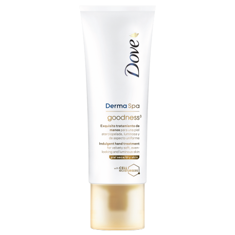 Dove DermaSpa Tratamiento de Manos Goodness³ 75ml