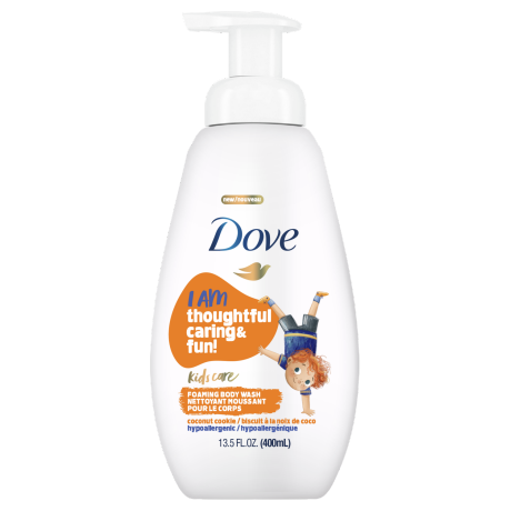 Dove Kids Care Foaming Body Wash Coconut Cookie 13.5 oz