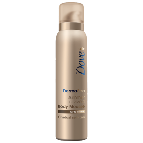 Dove DermaSpa Gradual Self-Tan Body Mousse Fair to Medium 150ml
