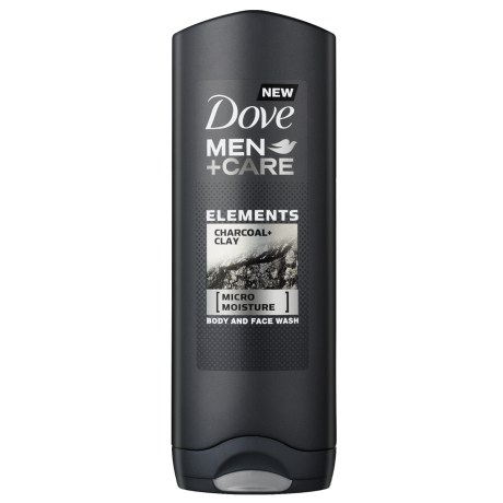 Dove Elements Charcoal + Clay Douchegel