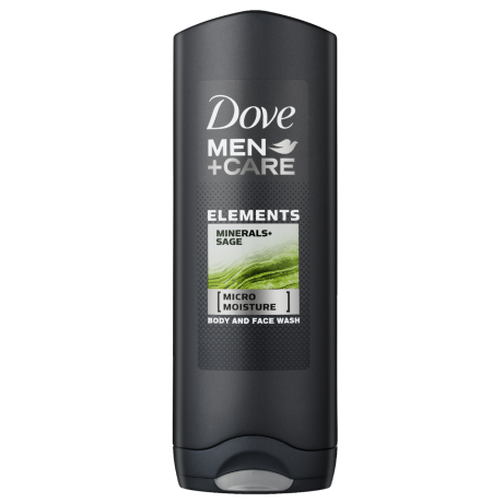 Dove Elements Minerals + Sage Douchegel