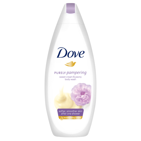 Dove Purely Pampering Zoete Crème & Pioenroos Douchecrème  250ml